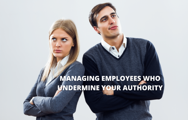 Learning to manage difficult staff members