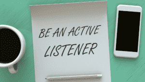 imterpersonal communication is a about listening