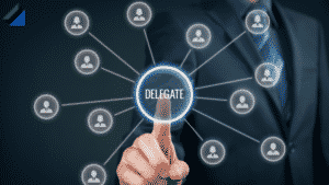 Delegating work and tasks to team members